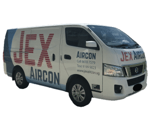 Jex Aircon air conditioner servicing and installation van singapore
