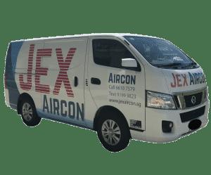 Jex Aircon air conditioner servicing and installation van singapore